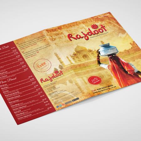 rajdoot_menu_design